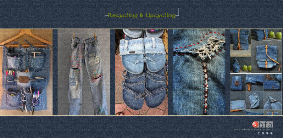 SUSTAINABLE FASHION | RECYCLE AND UPCYCLE